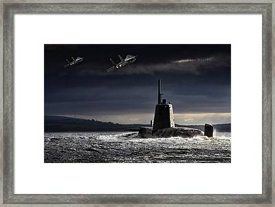 Armed And Dangerous Framed Print by Peter Chilelli