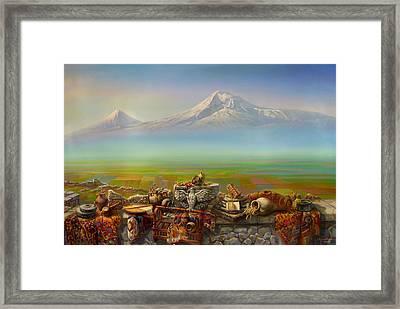 Armenia Framed Print by Meruzhan Khachatryan