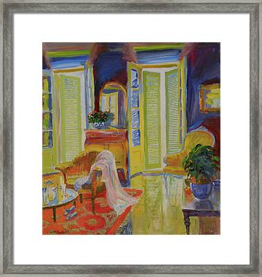 Armoire, 20078 Oil On Board Framed Print by William Ireland