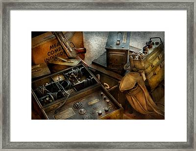 Army - Combat Ready Framed Print by Mike Savad