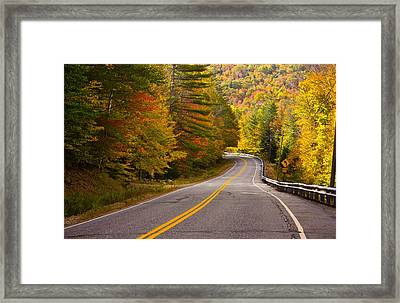 Around The Bend Framed Print by Benjamin Williamson