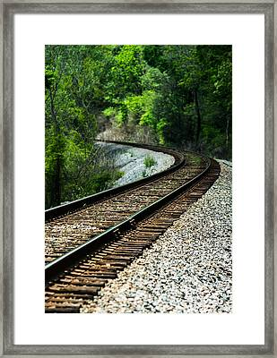 Around The Bend Framed Print by Parker Cunningham