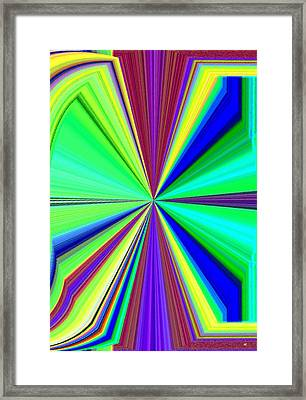 Arresting Abstract Framed Print by Will Borden