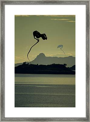 Arrival Framed Print by Anthony Bean