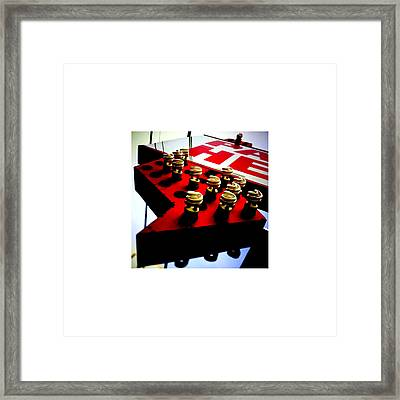 Arrow_11.15.12 Framed Print by Paul Hasara