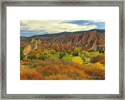 Arrowhead Autumn Color Framed Print by Jim Bennett