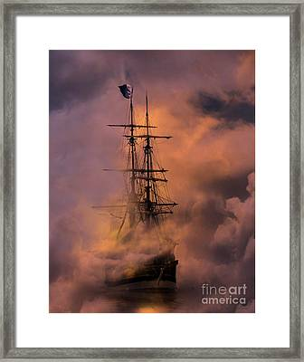 Arrr Framed Print by Stephanie Laird
