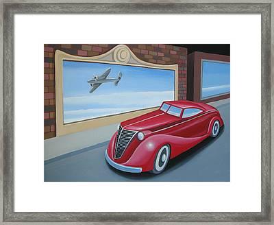 Art Deco Coupe Framed Print by Stuart Swartz