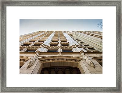 Art Deco Tulsa Framed Print by Lauri Novak