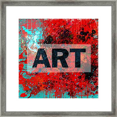 Art Framed Print by Gary Grayson
