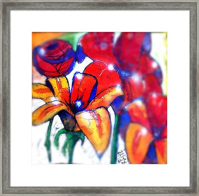 Art In The Eyes 3 Framed Print by Marcello Cicchini