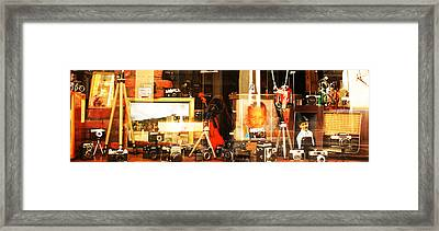 Art Framed Print by Lucy D