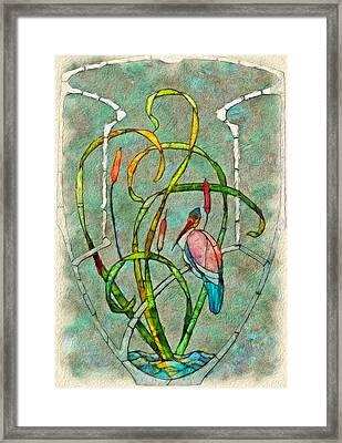 Art Nouveau Framed Print by Jack Zulli
