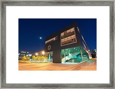 Art School - Visual And Performing Arts High School In Downtown Los Angeles Framed Print by Jamie Pham