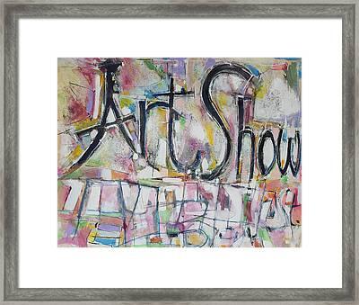 Art Show Framed Print by Hari Thomas