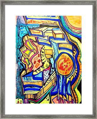 Articulated Dream Framed Print by Larry Calabrese