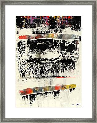 Artifact 28 Framed Print by Charlie Spear