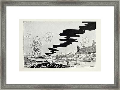 Artillery Fire Framed Print by British Library