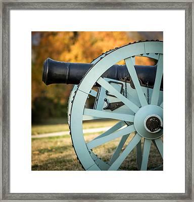 Artillery Framed Print by James Barber