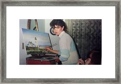 Artist Becky Van Pelt Framed Print by Becky Van Pelt