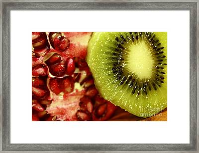 Artistic Moments With Food Framed Print by Inspired Nature Photography Fine Art Photography