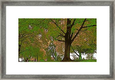 Artistic Touch Trees And More Framed Print by Beverly Guilliams