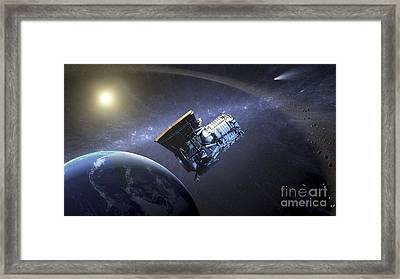 Artists Concept Of The Wide-field Framed Print by Stocktrek Images
