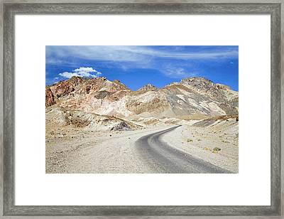Artist's Drive Framed Print by Jim West