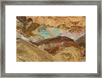 Artist's Paint Palette Abstract Framed Print by Heidi Smith