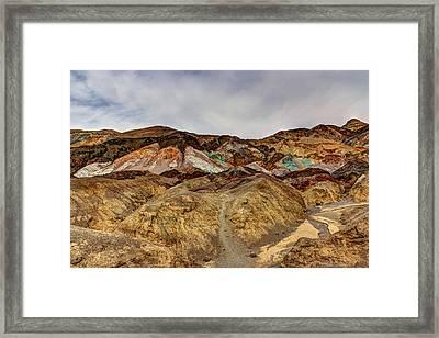 Artist's Paint Palette Framed Print by Heidi Smith