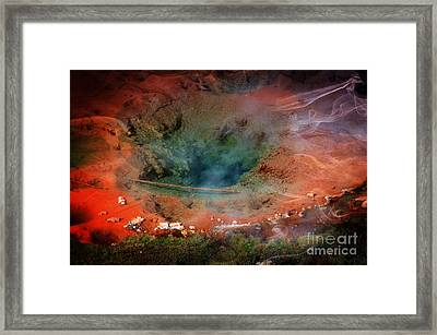 Artists' Paintpots Framed Print by Kathleen Struckle