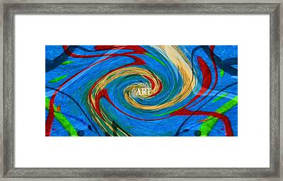 Artist's Vision Framed Print by Dan Sproul