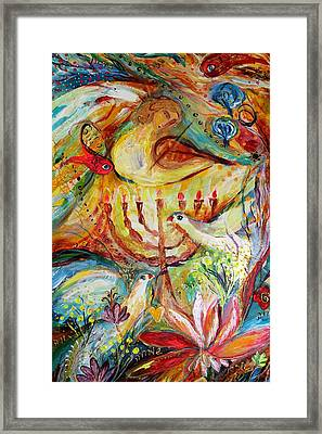 Artwork Fragment 20 Framed Print by Elena Kotliarker