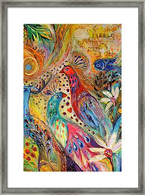 Artwork Fragment 34 Framed Print by Elena Kotliarker