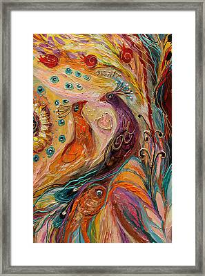 Artwork Fragment 69 Framed Print by Elena Kotliarker