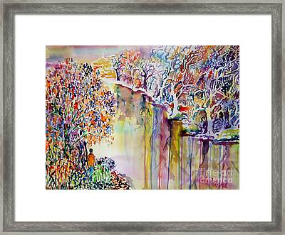 As Above So Below Framed Print by Alfred Motzer