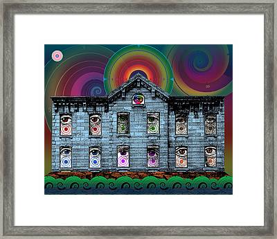 As Above So Below Framed Print by Eric Edelman