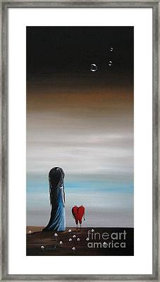 As Dreams Pass Her By By Shawna Erback Framed Print by Shawna Erback