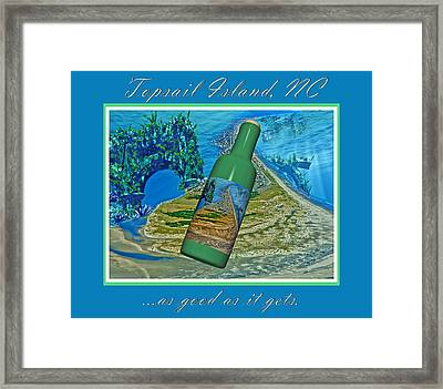 As Good As It Gets Framed Print by Betsy C Knapp