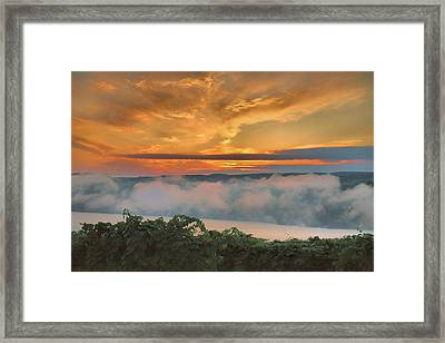 As Morning Breaks Framed Print by Steven Ainsworth