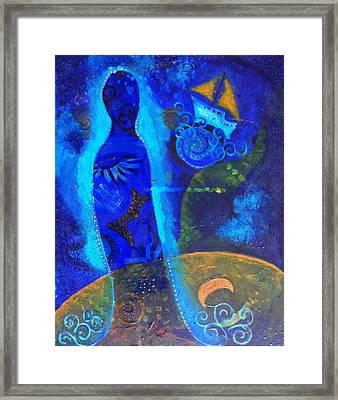 As Of Yet Untitled Dream Framed Print by Indigo Carlton