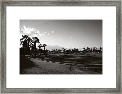 As Shadows Spread Across The Land Framed Print by Laurie Search