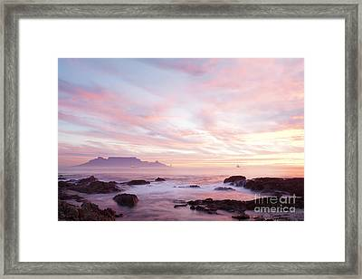 As The Day Ends Framed Print by Neil Overy