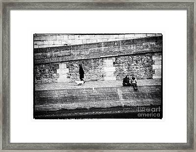 As Time Goes By Framed Print by John Rizzuto