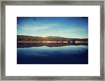 As You Call Out To Me Framed Print by Laurie Search