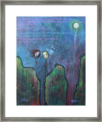 As You Wish Framed Print by Laurie Maves ART