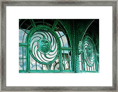 Asbury Carousel House Framed Print by William Walker