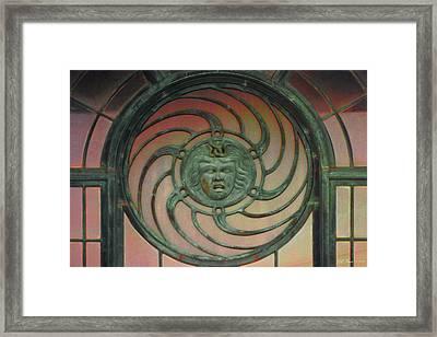Asbury Carousel Framed Print by Bill Jonas