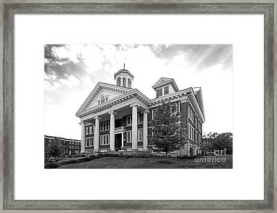 Asbury University Hager Administration Building Framed Print by University Icons