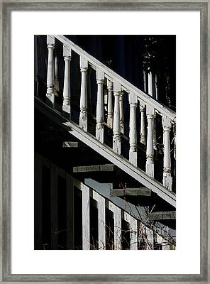 Ascending Into Another Time Framed Print by Vicki Pelham